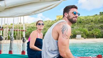 """COUPLED:  L-R:  Ashley and BT in the """"Chemical Reaction"""" episode of COUPLED airing Tuesday, May 31 (9:00-10:00 PM ET/PT) on FOX.  �2016 Fox Broadcasting Co.  Cr:  Michael Becker/FOX"""