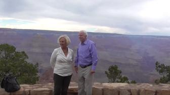 John McCain visited the Grand Canyon while his party nominated Trump in Cleveland.