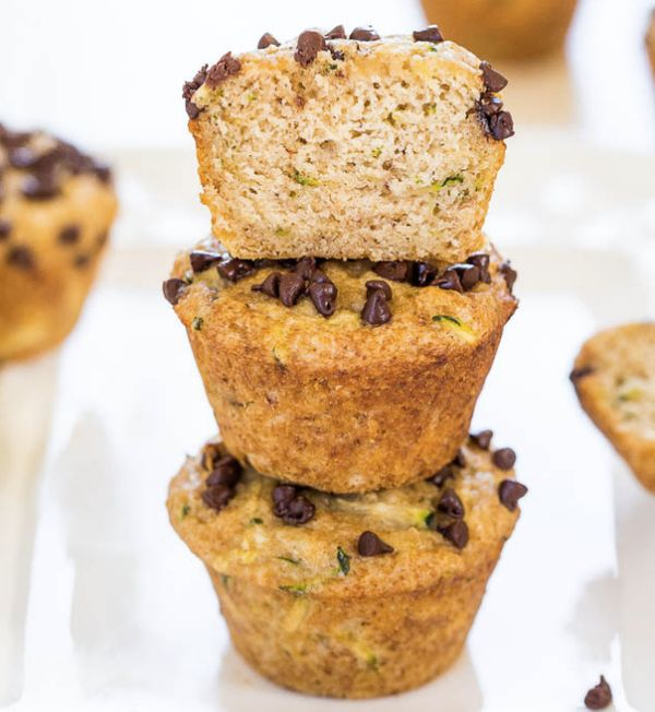 """<strong>Get the <a href=""""http://www.averiecooks.com/2014/07/banana-zucchini-chocolate-chip-muffins.html"""" target=""""_blank"""">Bana"""