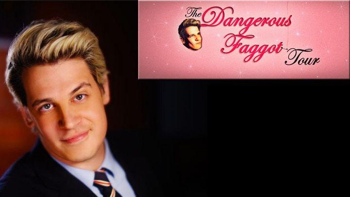 Milo's Dangerous Faggot Tour Banner