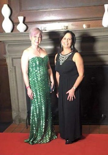 Pink the Runway 2015: Heidi and Elizabeth Barkerhttps://www.etsy.com/shop/HKellydesigns