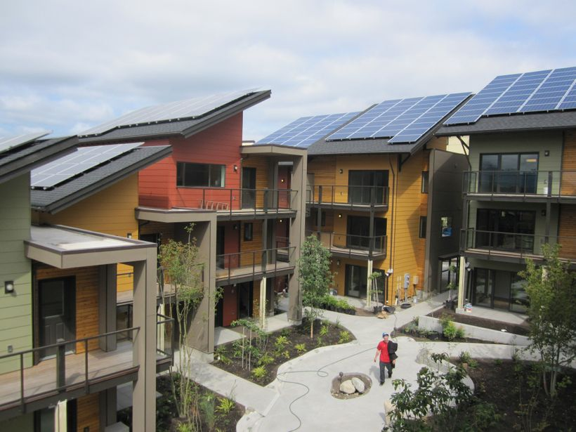 <i>The net zero energy multifamily residential zHome in Issaquah, WA</i>
