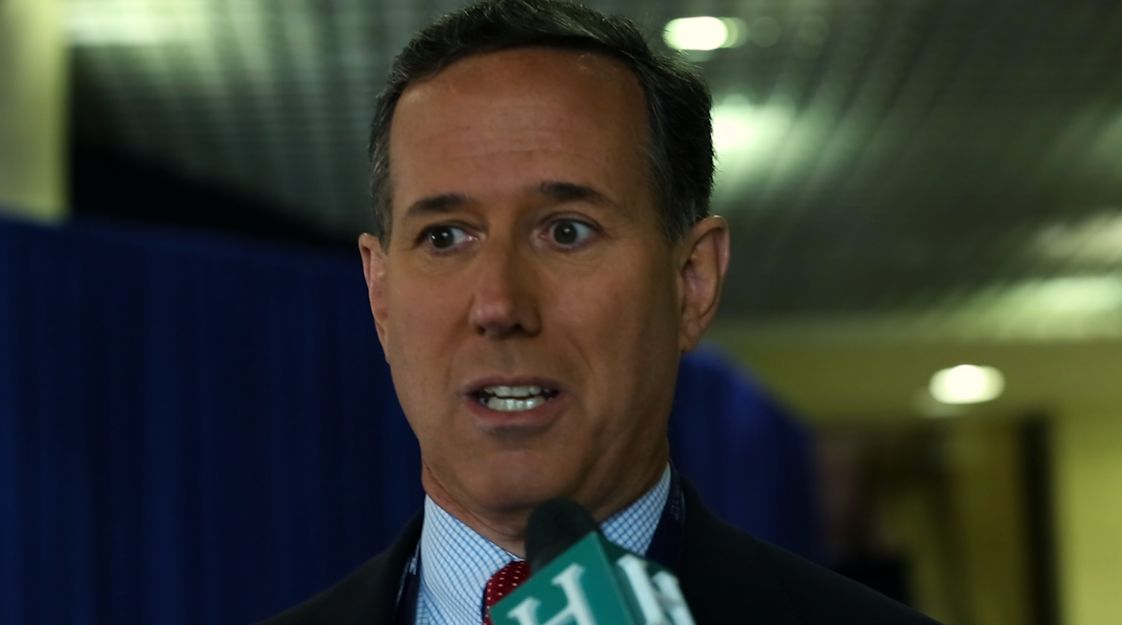 Former Sen. Rick Santorum comments on Hillary Clinton's email scandal.
