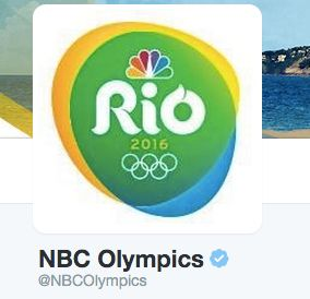 The official NBC OlympicsTwitter account.