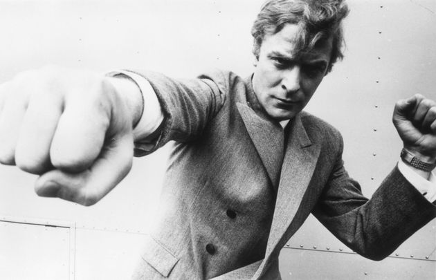 Michael Caine, originally Maurice Micklewhite, starred in The Italian Job, Alfie and the Batmna