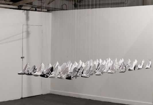 Little Paper Slipper Chapter I exhibition at Mother Project Space Gallery (2014)