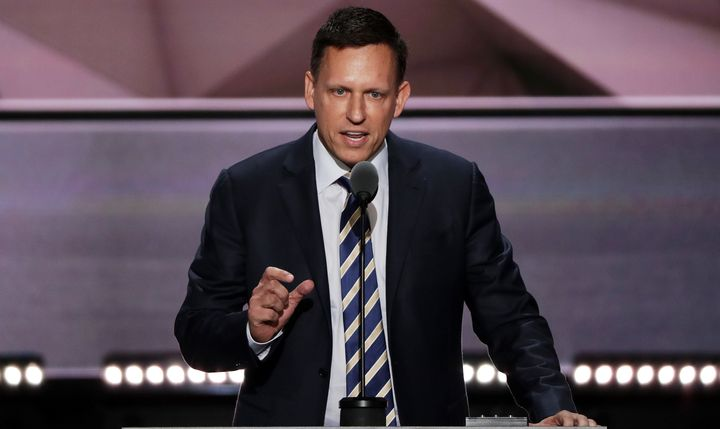 Silicon Valley entrepreneur Peter Thiel is the first GOP convention speaker to talk about being gay.