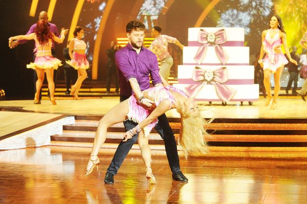 Reigning 'Strictly' champions Jay McGuiness and Aliona