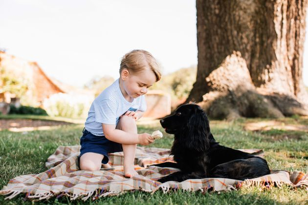 Prince George, who is third in line to the British throne, turned three on