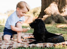 Prince George Melts Hearts In Adorable New Birthday Photographs