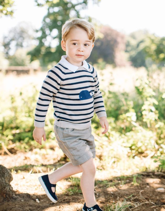 Matt Porteous took the adorable photographs of the young prince, which were released by Kensington Palace...