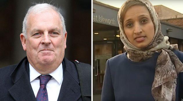Channel 4 saidKelvin MacKenzie, left,had written a column about Fatima Manji, right,that...