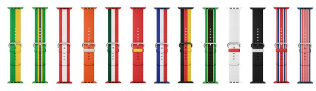 Apple Unveils National Flag Themed Apple Watch Bands For The