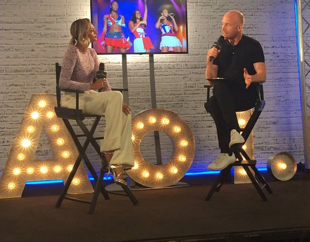 Alesha Dixon's interview launched the AOL Build UK