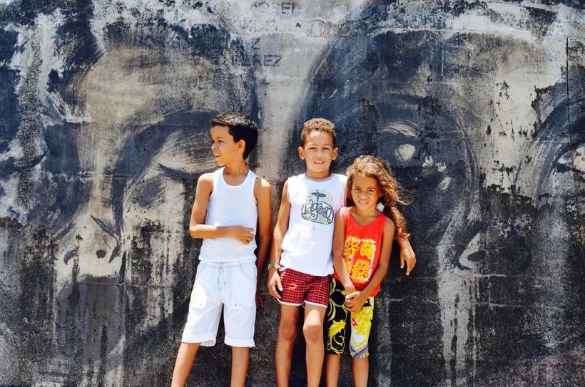 These children carry Cuba's hopes and dreams.