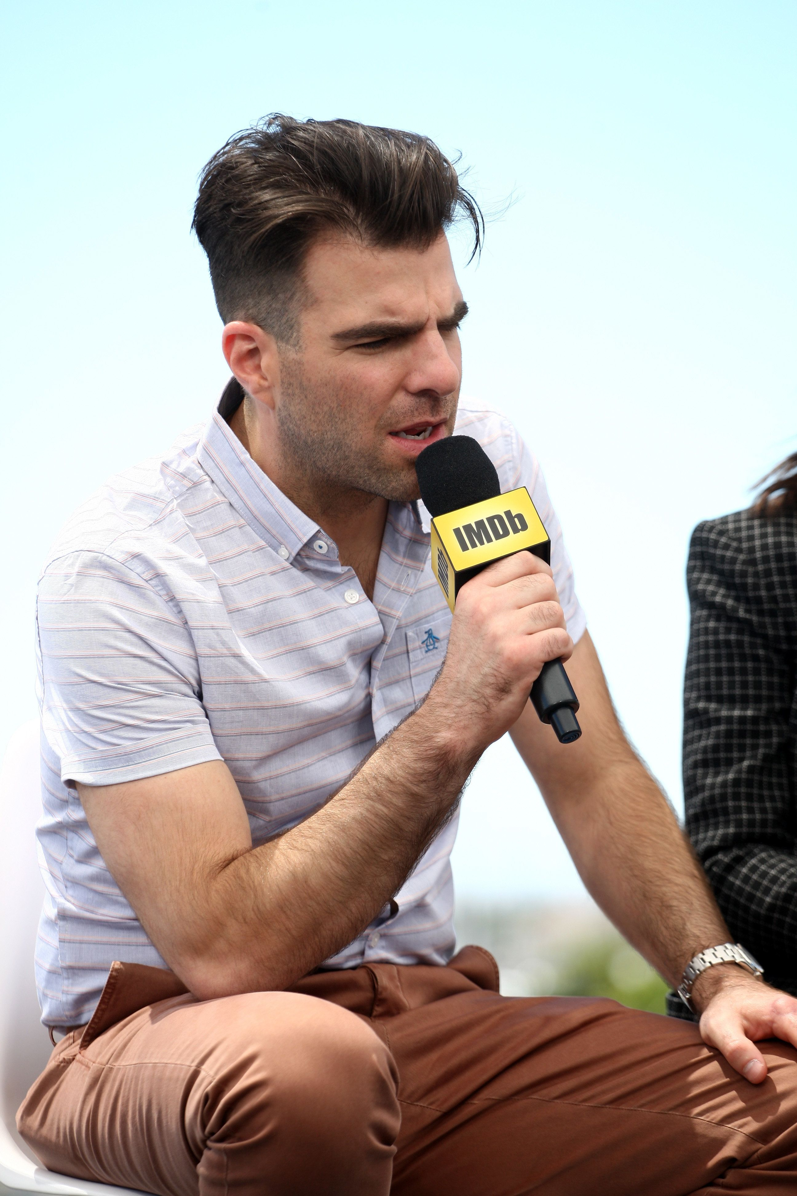 SAN DIEGO, CA - JULY 21:  Actor Zachary Quinto attends the IMDb Yacht at San Diego Comic-Con 2016: Day One at The IMDb Yacht on July 21, 2016 in San Diego, California.  (Photo by Tommaso Boddi/Getty Images for IMDb)