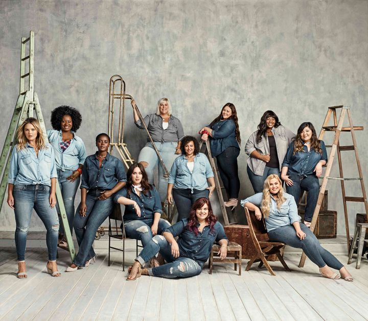 """Among the stars of the campaign are models Georgina Burke and Philomena Kwao along with """"Orange is the new Black"""" star Adrienne C. Moore."""