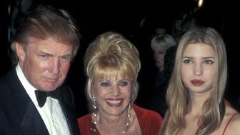 Donald Trump, Ivana Trump, and Ivanka Trump (Photo by Ron Galella/WireImage)