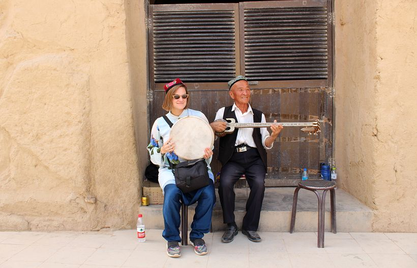 Jamming in Xinjiang