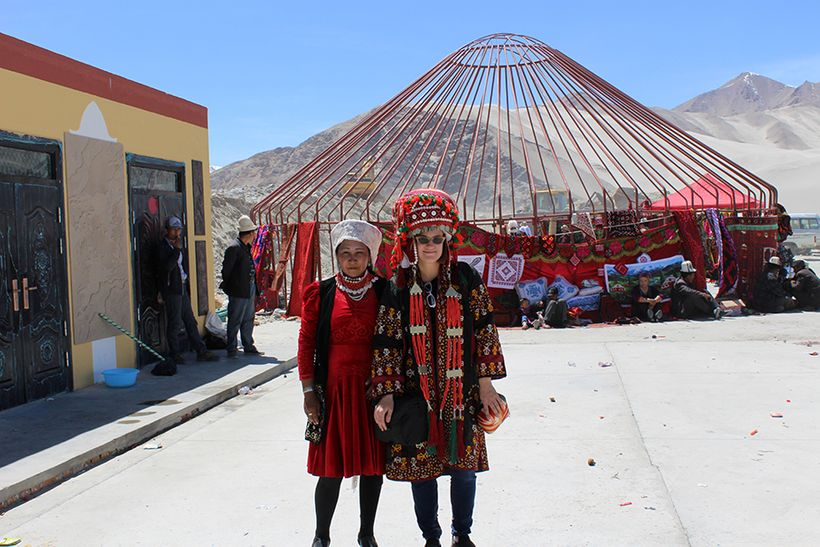 Making Kyrgyz friends in Xinjiang
