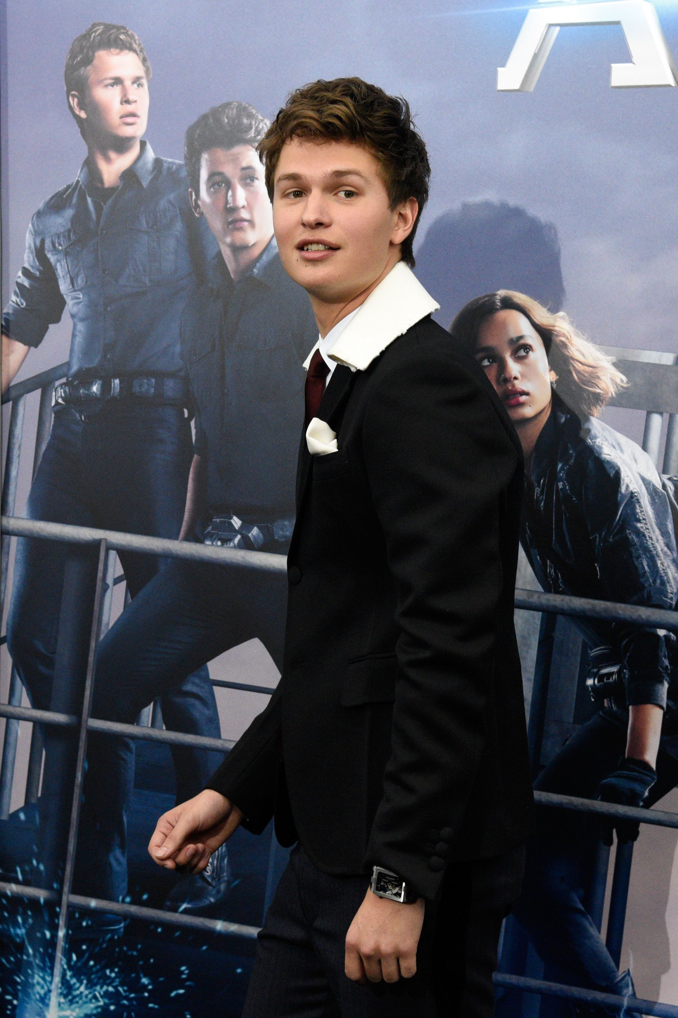 NEW YORK, NY - MARCH 14:  Ansel Elgort attends the 'Allegiant' premiere at AMC Loews Lincoln Square 13 theater on March 14, 2016 in New York City.  (Photo by Taylor Hill/FilmMagic)