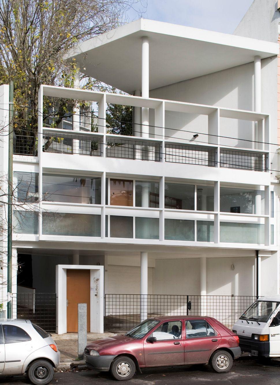 Maison Curutchet, a 1949 residence Le Corbusier designed in La Plata, Argentina.