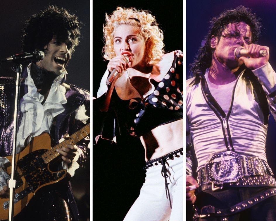 The Prince, Madonna And Michael Jackson Slam Book