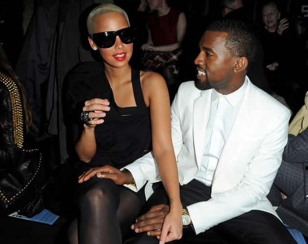 Amber and Kanye in