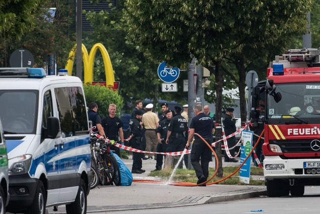 Munich gunmanAli David Sonboly may have lured people to the mall with the offer of free