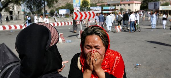 ISIS Claims Suicide Attack On Kabul Protest By Hazara Minority, Dozens Killed