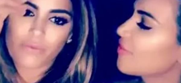 Kim K Makes Another Dig At Taylor Swift On Snapchat