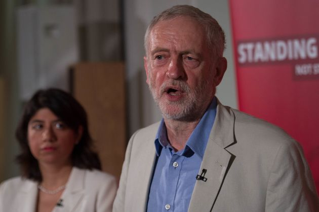 Corbyn's spokesman played down the incident and said that claims of intimidation were