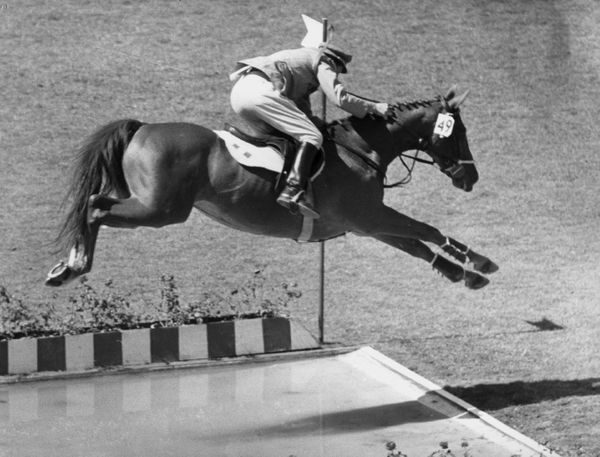The long jump is a staple of track and field, while equestrian is one of the more elegant Olympic categories. So how about co