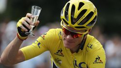 Champagne-Élysées! Froome Celebrates His Third Tour De France
