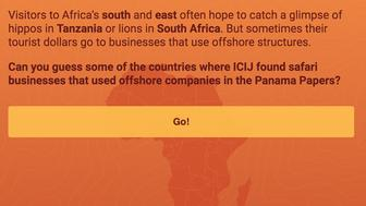 See if you can uncover Africa's offshore empires in a new game by The International Consortium of Investigative Journalists.