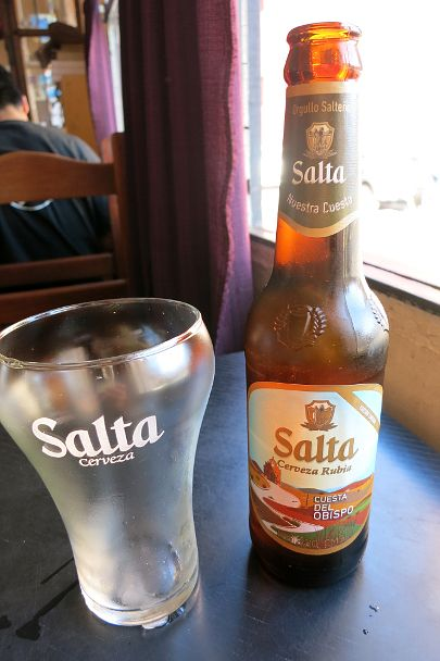 Salta beer, produced by CCU Argentina
