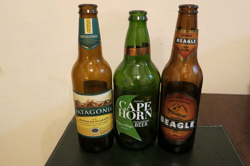 Craft beer from the Ushuaia region