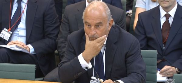 Sir Philip Green Branded 'Unacceptable Face Of Capitalism' In MPs' Scorching Attack