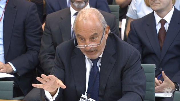 'His reputation as the king of retail lies in the ruins of BHS,' a report found of Green