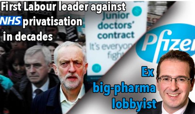 Jeremy Corbyn And John McDonnell Urged The Tories To Recognise Pfizer's Role In Medical