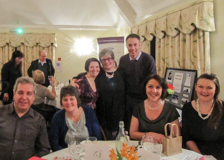 Business buddies and friends who helped me celebrate my 50th birthday and raised money for charity at the same time.