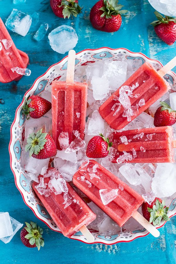 "<strong>Get the <a href=""http://www.halfbakedharvest.com/2-ingredient-strawberry-popsicles-links-inspire/"" target=""_blank"">2-"