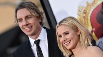 WESTWOOD, CA - MARCH 28:  Actors Dax Shepard and Kristen Bell arrive at the premiere of USA Pictures' 'The Boss' at Regency Village Theatre on March 28, 2016 in Westwood, California  (Photo by Axelle/Bauer-Griffin/FilmMagic)