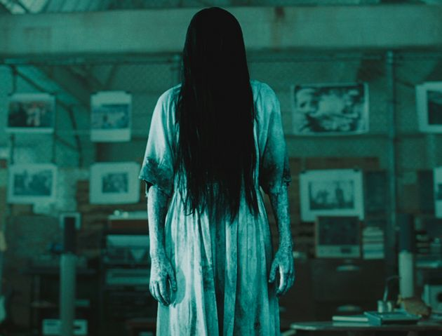 Some online sleuths have remarked on the similarity of the figure to the Japanese horror character Sadako...