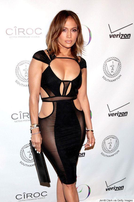 Jennifer Lopez Wears Nearly Naked Birthday Suit To Celebrate Turning