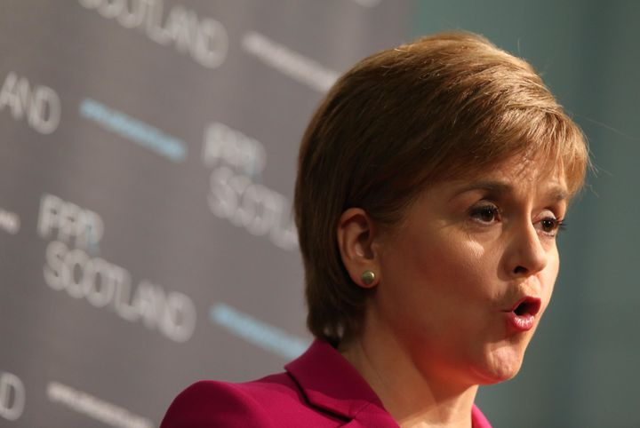 With Scottish voters having overwhelmingly backed remaining inside the European Union, First Minister Nicola Sturgeon is