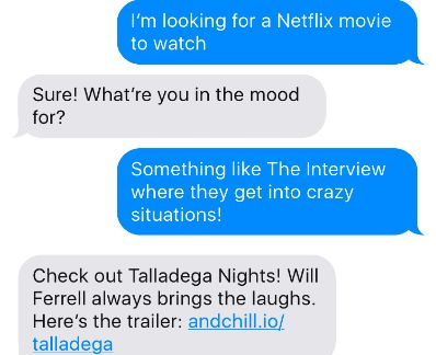 The 'And Chill' Netflix Recommendation Bot Is Really