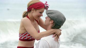 """No Merchandising. Editorial Use Only. No Book Cover Usage Mandatory Credit: Photo by Snap Stills/REX Shutterstock (2168818k) Ryan Gosling stars as """"Noah"""" and Rachel McAdams stars as """"Allie"""" The Notebook. - 2004"""
