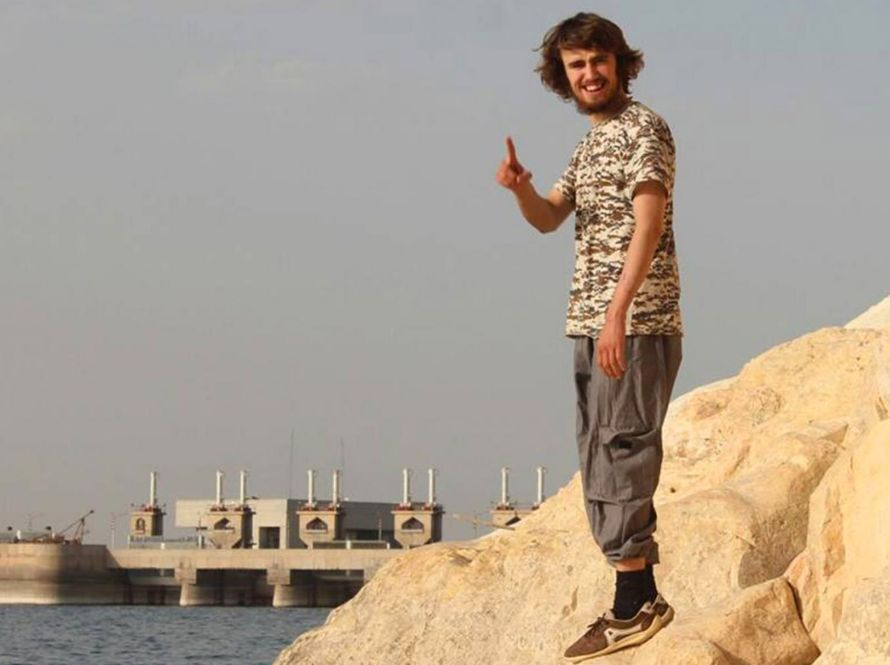 Jack Letts, 20, dubbed 'Jihadi Jack', ran away to Syria in 2014. He insists he is not
