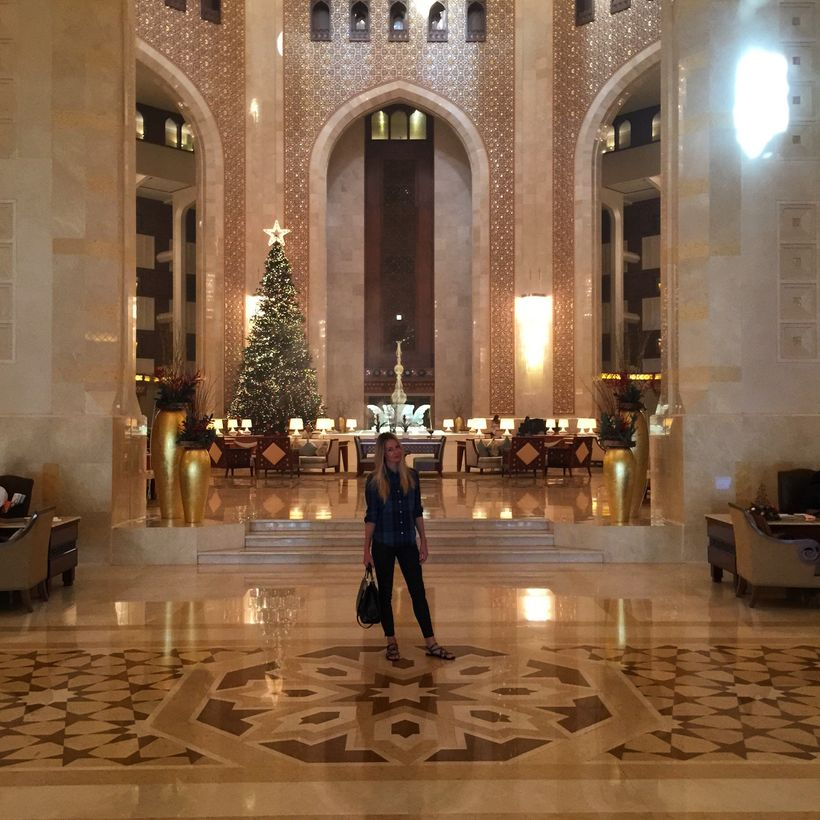 <strong>Al Bustan Palace Lobby</strong>